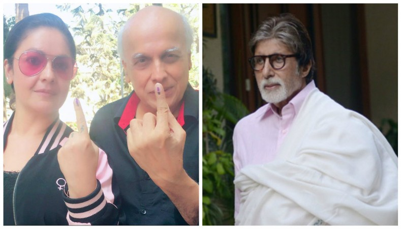 Mahesh Bhatt reacted to Pooja Bhatt's dig at troll supporting Amitabh Bachchan.