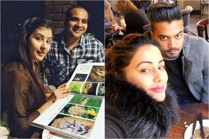 Shilpa Shinde, brother Ashutosh Shinde, Hina Khan, boyfriend Rocky Jaiswal