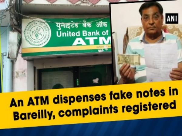 Uttar Pradesh ATM dispenses Fake Rs 500 Notes