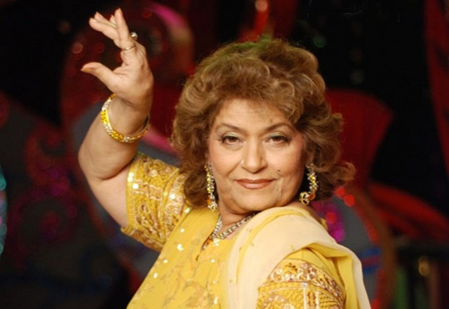 Saroj Khan defends casting couch, apologises
