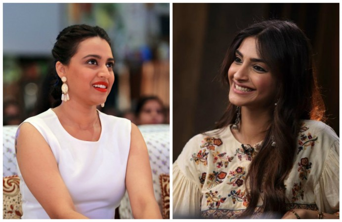Swara Bhaskar and Sonam Kapoor avoid question on casting couch saying it's not related to Veere Di Wedding