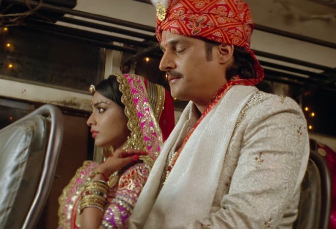 Shriya Saran with Jimmy Sheirgill in Phamous