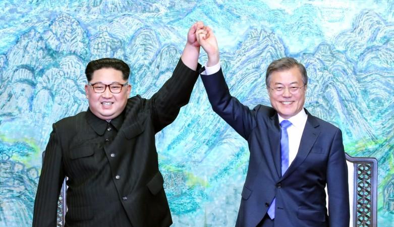Kim Jong un meets Moon Jae-in