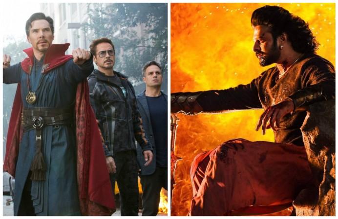 Avengers Infinity War vs Baahubali 2