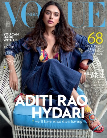 Aditi Rao Hydari on Vogue's May 2018 cover