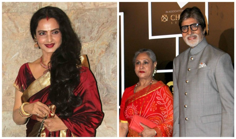 Rekha reportedly trying hard to be friends with Amitabh Bachchan and his family