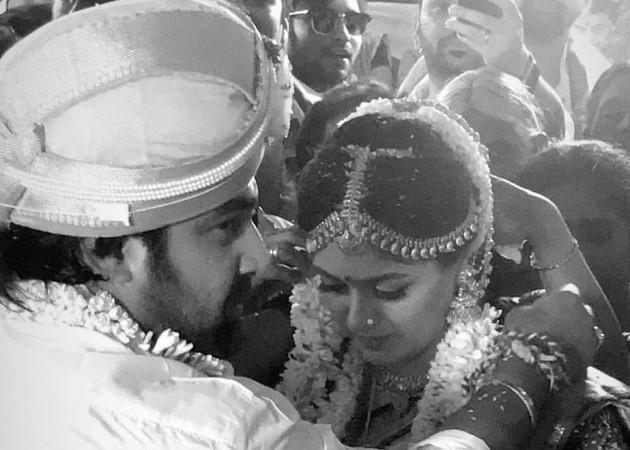 Chiranjeevi Sarja marries Meghana Raj