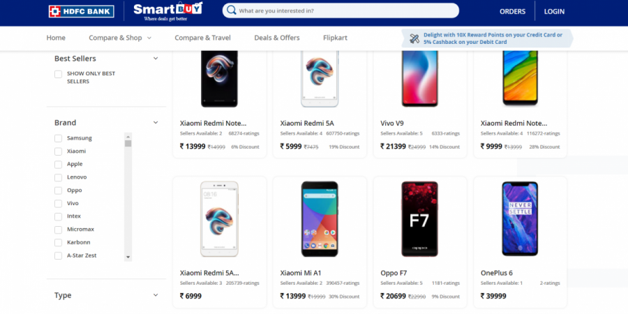 OnePlus 6, HDFC, Smartbuy, offer
