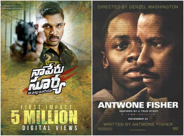 Naa Peru Surya is a copy of Antwone Fisher
