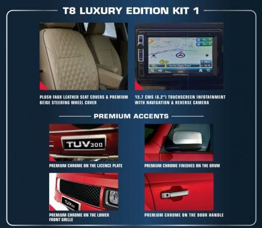Mahindra TUV300 Luxury kit 1