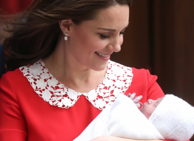 Prince Louis Kate Middleton