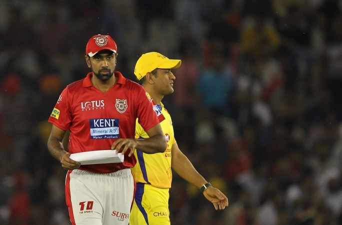 Kings XI Punjab captain R Ashwin