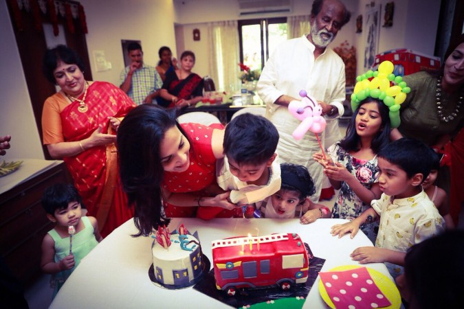 Soundarya Rajinikanth's Son Veda Krishna Birthday Celebration