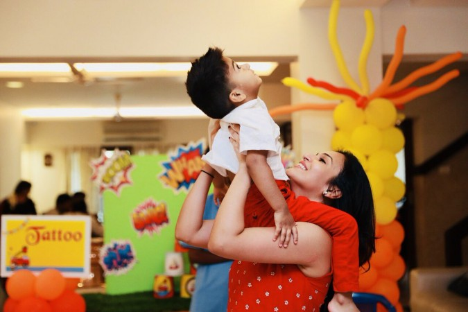 Soundarya Rajinikanth's Son Ved Krishna Turns 3