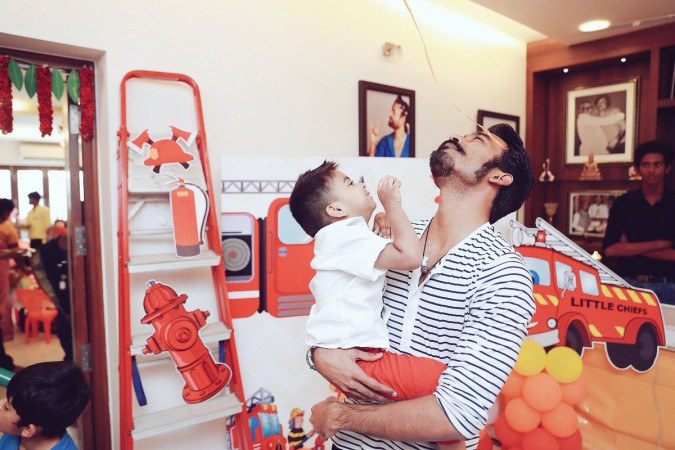 Soundarya Rajinikanth's son with Dhanush
