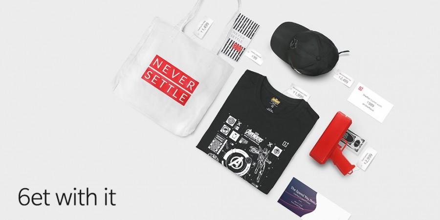 OnePlus 6 Marvel merchandise