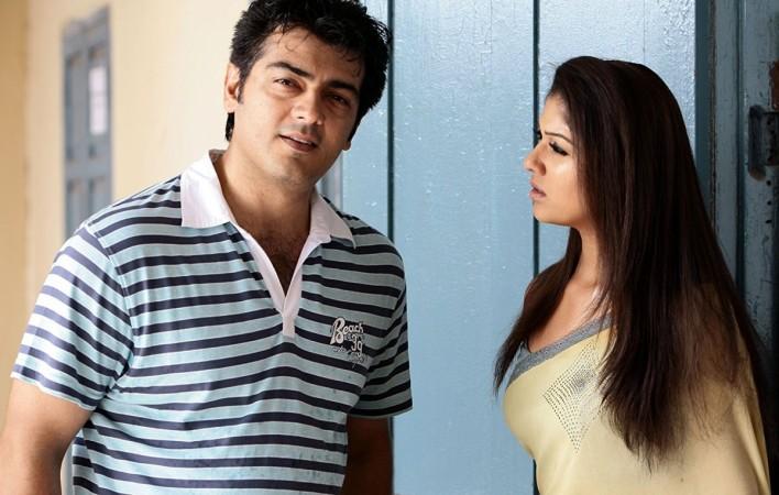Ajith with Nayanthara in Aegan