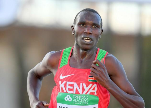Kenya's Geoffrey Kamworor