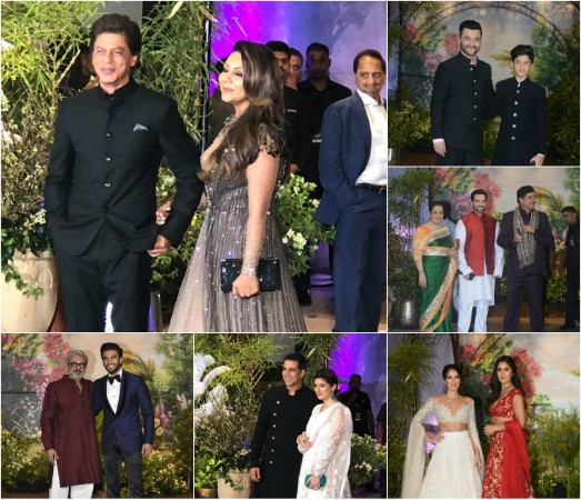 Image result for sonam kapoor at her wedding reception