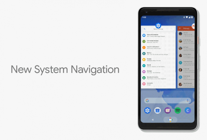 Android P - Recent Apps