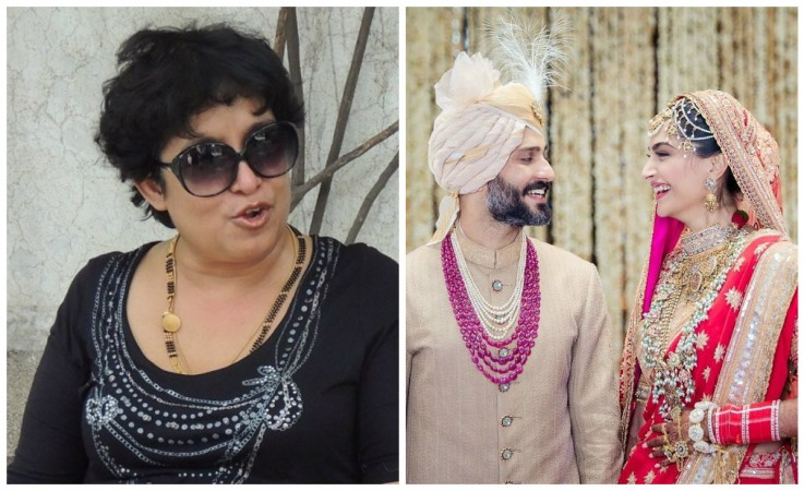 Taslima Nasreen takes dig at Sonam Kapoor for changing name after marriage
