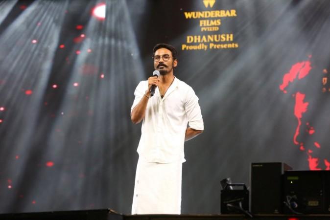 Dhanush at Kaala audio launch