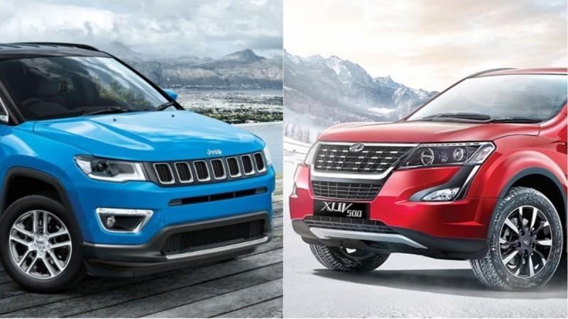 2018 Mahindra XUV500 vs Jeep Compass