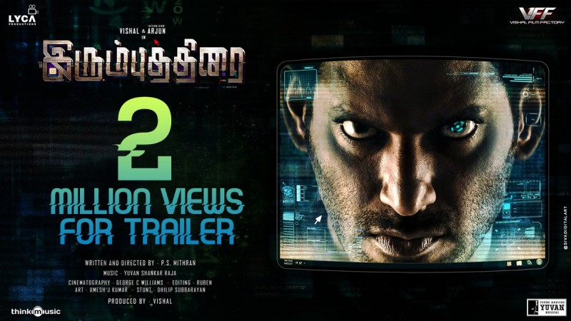 Irumbu Thirai Movie Review By Audience Live Updates  Ibtimes India
