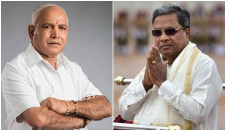 BS Yeddyurappa and Siddaramaiah