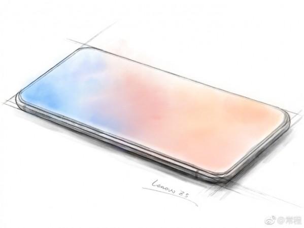 Lenovo Z5 design teased