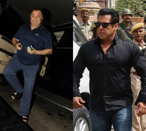 Rishi Kapoor Salman Khan