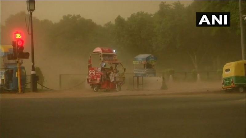 Delhi-NCR duststorm