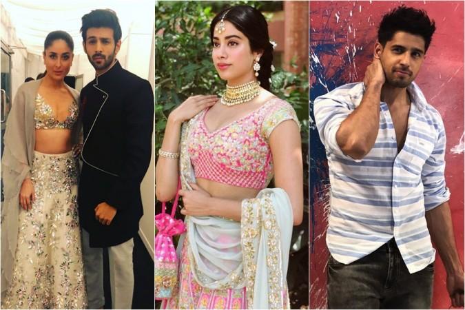 Kareena Kapoor Khan, Kartik Aaryan, Janhvi Kapoor, Sidharth Malhotra