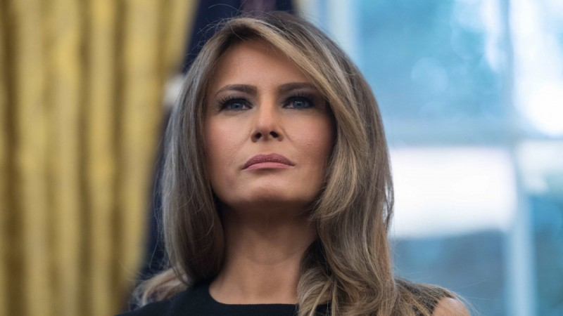 Melania Trump criticizes Trump's