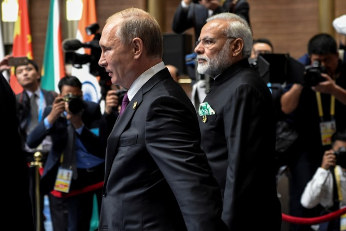 PM Modi to meet Russian president Putin at Sochi's seaside resort