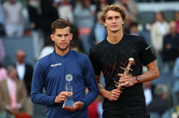 Alexander Zverev and Dominic Thiem