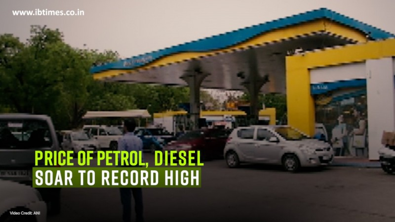 Prices of petrol, diesel soar to record high