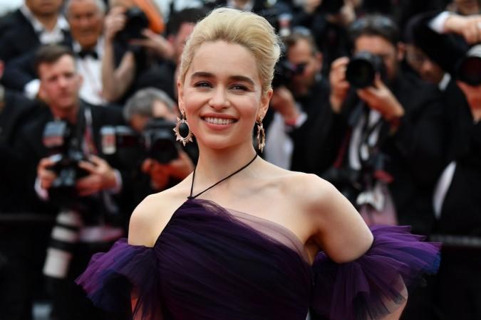 British actress Emilia Clarke