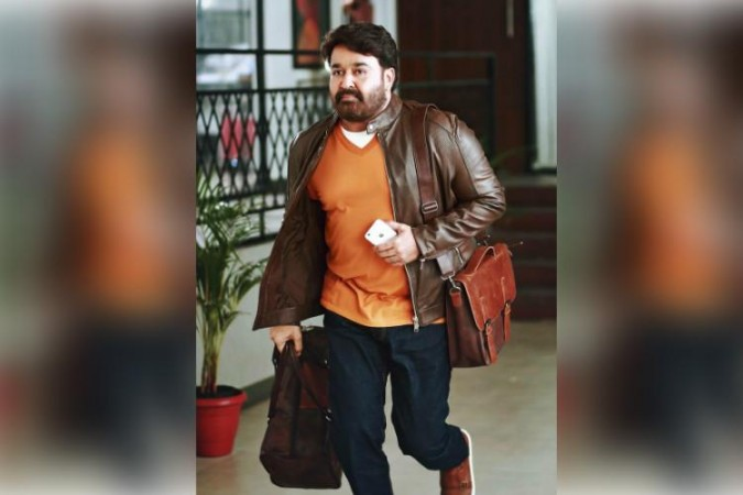 Mohanlal's stunning look from the shooting location of  the film Neerali