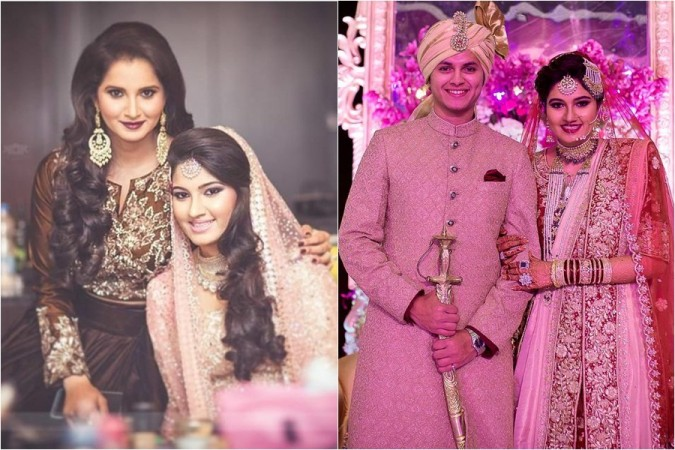 Sania Mirza, sister Anam Mirza, husband Akbar Rasheed