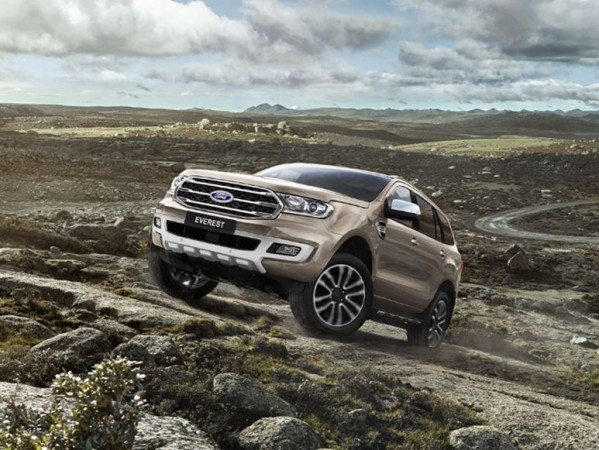 2019 Ford Endeavour, Ford Everest