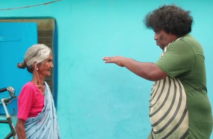 Yogi Babu in Kalyaana Vayasu song in Kolamaavu Kokila