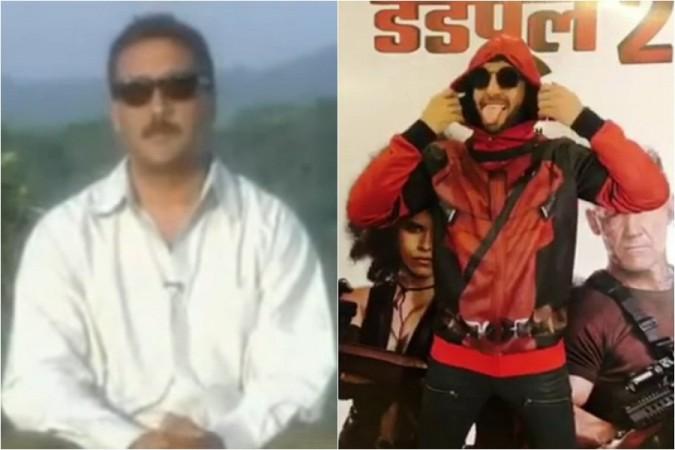Jackie Shroff, Ranveer Singh, Deadpool 2