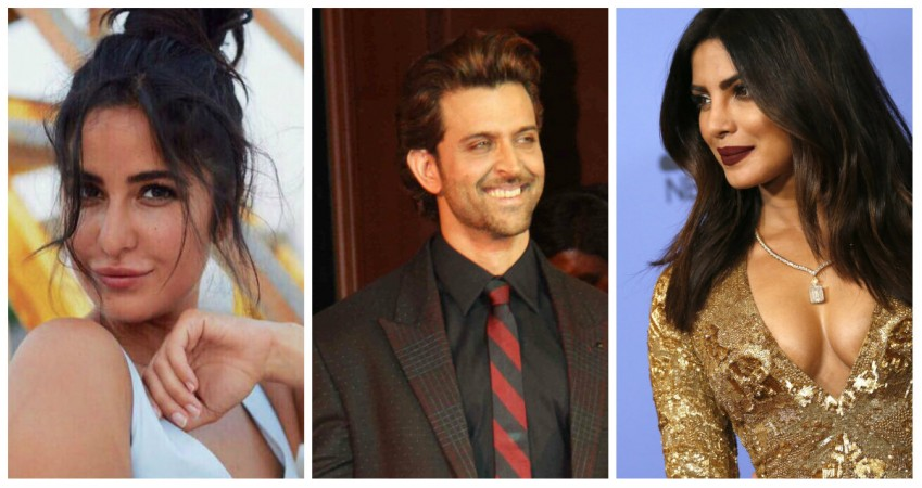 Katrina Kaif, Hrithik Roshan and Priyanka Chopra