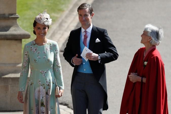 Pippa Middleton and her husband James Matthews