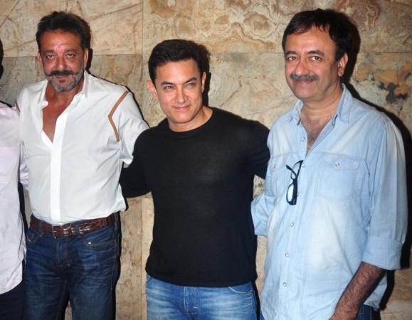 Sanjay Dutt, Aamir Khan, Rajkumar Hirani