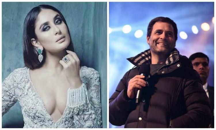 Kareena Kapoor Khan once wanted to date Rahul Gandhi