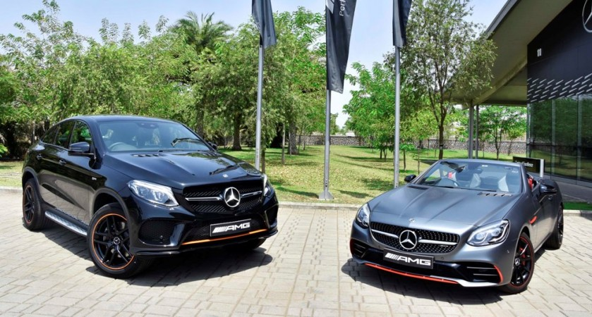 Mercedes-AMG GLE 43 4MATIC Coupe 'OrangeArt' and SLC 43 'RedArt' Editions
