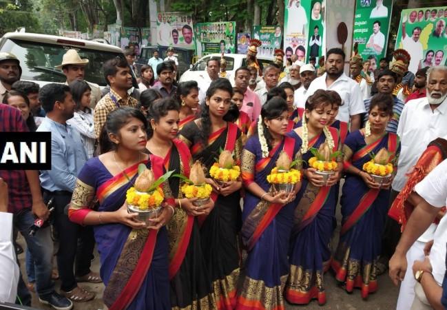 HD Kumaraswamy swearing-in ceremony