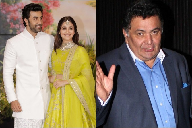 Ranbir Kapoor, Alia Bhatt, Rishi Kapoor